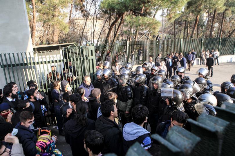 iran-protestors-clash-police