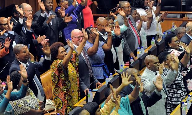 Ramaphosa election