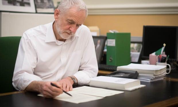 Corbyn letter